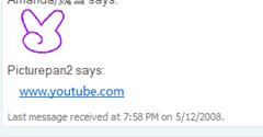 WL Messenger 屏蔽 YouTube.com的最新消息