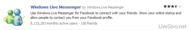 Beta 2 发布以来,连接 Facebook 至 Messenger 用户数: 800 万