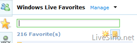 Windows Live Favorites 服务已经停止?