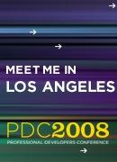 微软 PDC 08 壁纸及博客 Bling