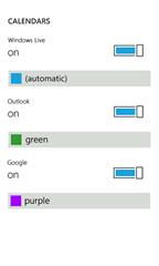 Windows Phone 7 与 Windows Live Calendar