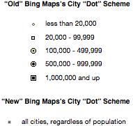 再谈 Bing Maps 之改版
