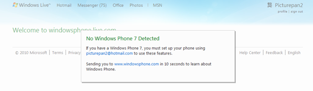 微软宣布 Windows Phone Live,将替代 My Phone?