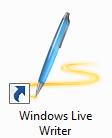 打开 Windows Live Writer 实时字数统计,自动保存等功能
