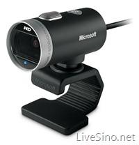 微软宣布 LifeCam Cinema,支持 720p 高清宽屏视频