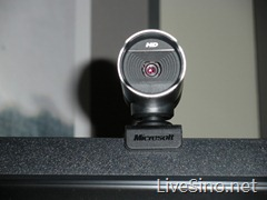 新 LifeCam Studio 摄像头: 1080p;专为 Windows Live 2011 优化
