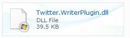 Windows Live Writer 插件推荐:通知 Twitter 新日志发布
