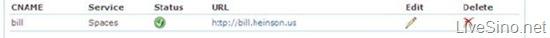 为你的 Windows Live Spaces 建立独立域名