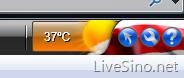 MSN Toolbar 再次更新:增加温度显示功能