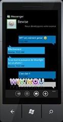谁开发了官方 Windows Phone 7 版 Messenger,外包项目?