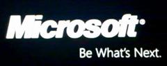 微软新企业标语:Be What's Next;以及新产品标志?