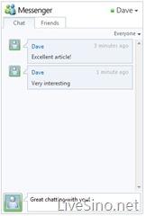 新 Windows Live 开发者中心上线,Messenger Connect Beta 发布