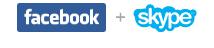 Facebook 与 Skype 视频聊天合作宣布