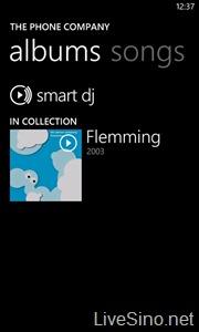 Windows Phone 芒果:Music & Video Hub 更新一览