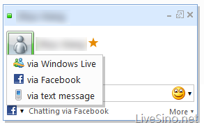 Windows Live Web Messenger 即将支持 Faceboot Chat,附体验