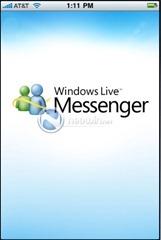 iPhone 版 Windows Live Messenger 截图流出
