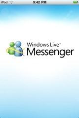 iPhone 版 Windows Live Messenger 体验