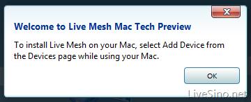 Live Mesh for Mac 修复与 Snow Leopard 不兼容问题