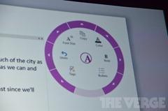 微软演示 OneNote Windows 8 风格应用(原 Metro 风格应用)