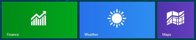 Bing for Windows 8 消费者预览版:天气、地图和财经