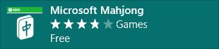 微软麻将 Microsoft Mahjong