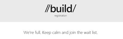 BUILD 2012 微软开发者会议注册开放,门票 1 小时内售罄