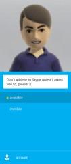 Windows 8 版 Skype 应用体验(二)