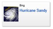 必应地图发布飓风桑迪灾后高清图像