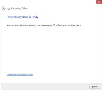 释放 Surface Pro 更多存储空间:删除系统恢复空间