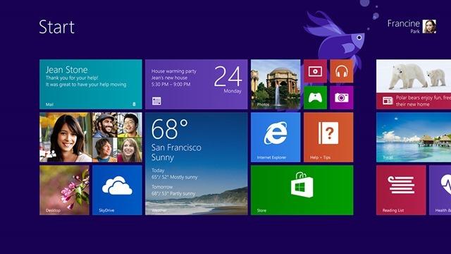 Windows 8.1 预览版硬件要求、支持语言、ISO