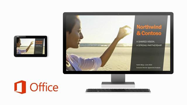 微软:触控优先 Office 应用将跨更多设备