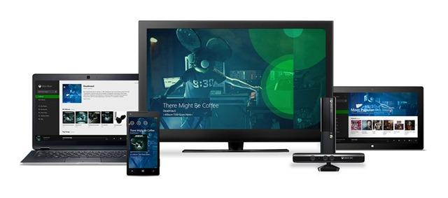 Web 版 Xbox Music 正式上线