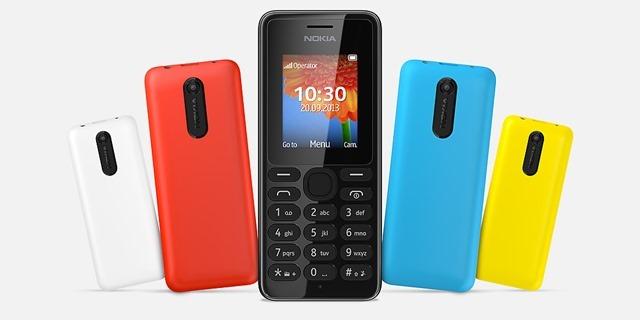 诺基亚宣布超便宜功能机 Nokia 108