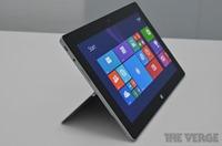 Surface 2 上手图集与视频,Surface RT 配置对比