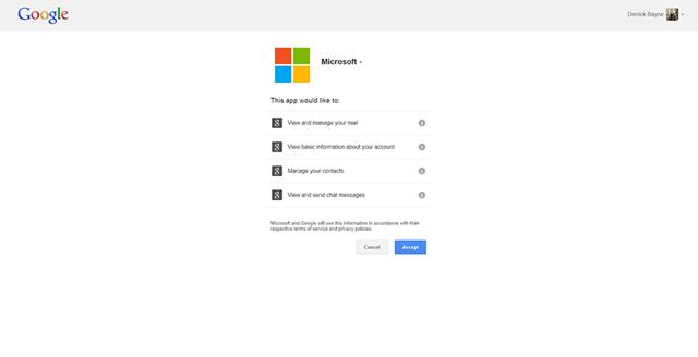 微软推出快速迁移 Gmail 邮箱至 Outlook.com 服务