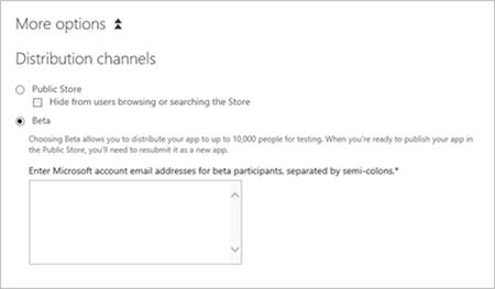 Windows Phone Dev Center 更新,Beta 应用不再有过期时间