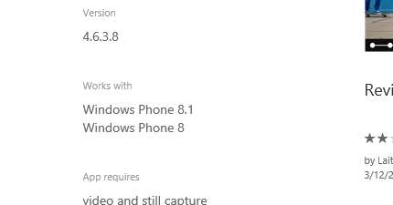 Windows Phone 官方网站新增 WP8.1 标题