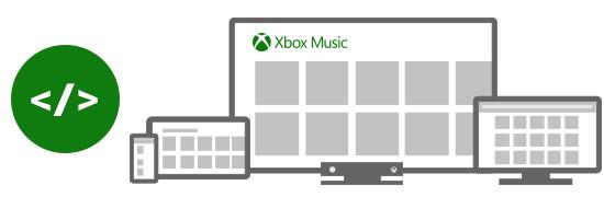 Xbox Music 开放 API 和联盟计划