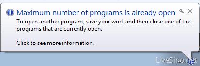 Windows 7 Starter Edition 的三个程序限制
