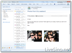 Windows 7 中的 Windows Live Essentials Windows_Live_Mail