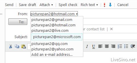 Windows Live Hotmail 已支持收取其他邮箱帐号邮件