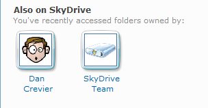体验 Windows Live SkyDrive