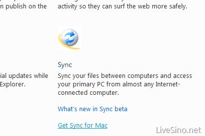 Windows Live Sync for Mac Beta 更新